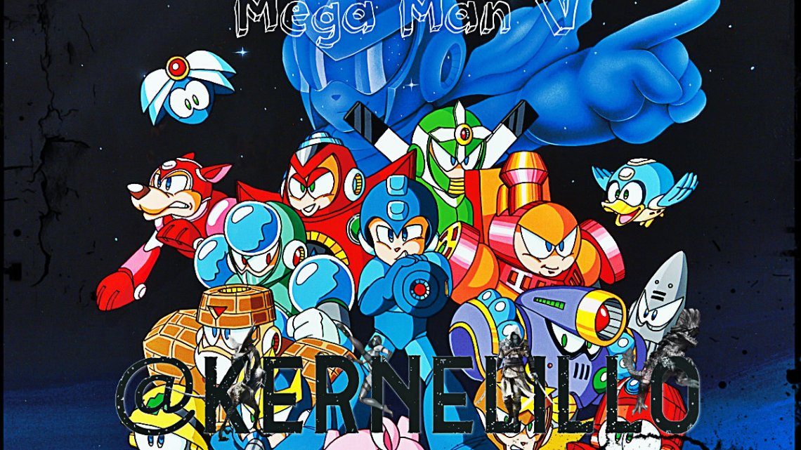 Mega Man 5 guía rápida