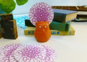 Kaleidoscope Coaster: Daisies