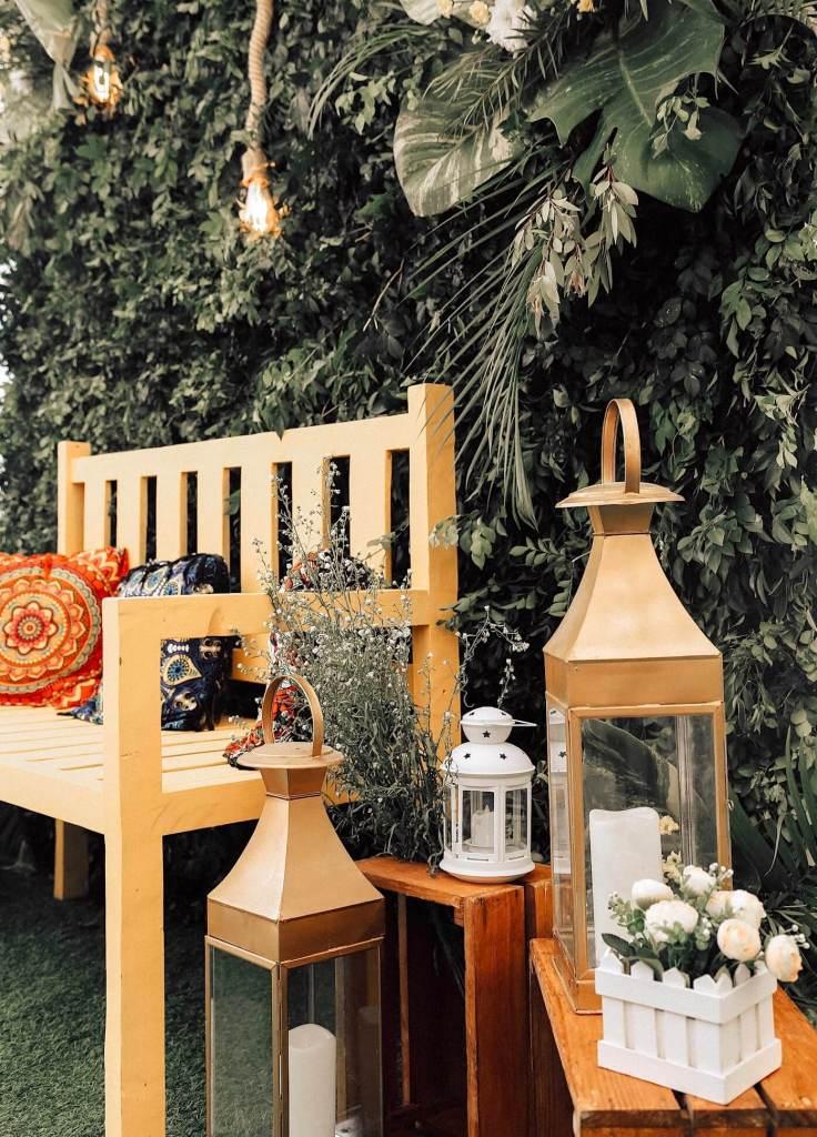 lanters planters kernig krafts bench