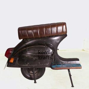 CHAM60580 Bajaj Chetak Scooter Repurposed As Seating