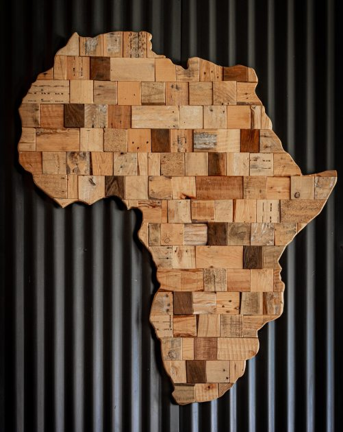 africa art wood kernig krafts repurposed