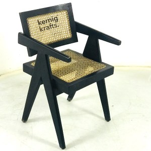 CHAM48899 Canning Seat Comfy Wooden Chandigarh Chair