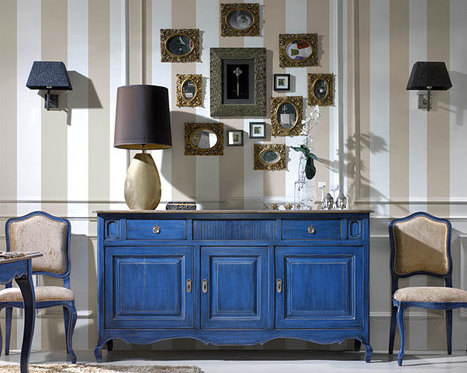 Blue Side Board - Kernig krafts bespoke furniture - bespoke furniture\