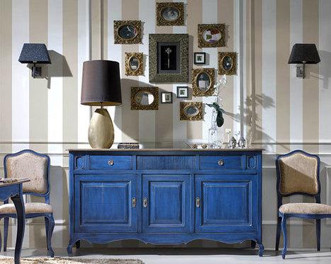 Blue Side Board - Kernig krafts bespoke furniture - bespoke furniture\