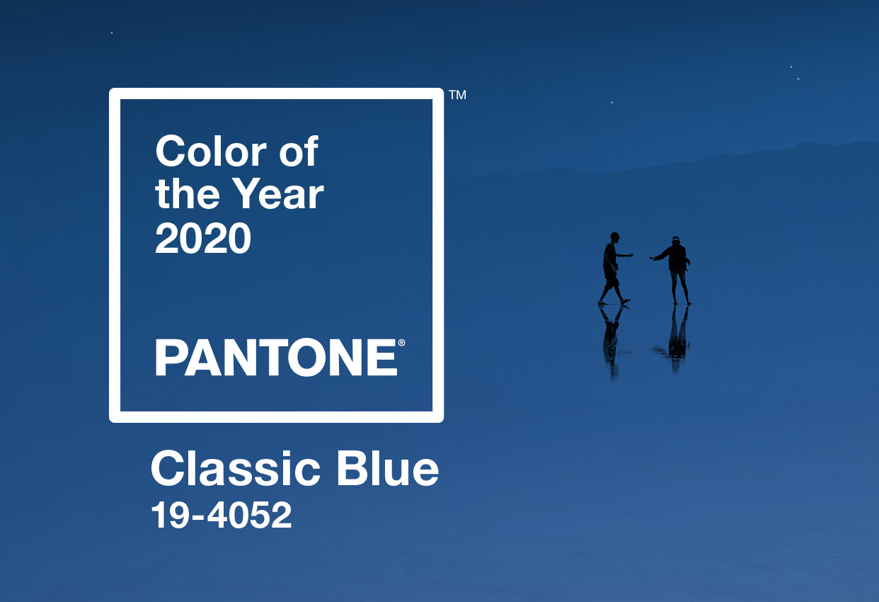 pantone color of the year 2020 classic blue banner mobile
