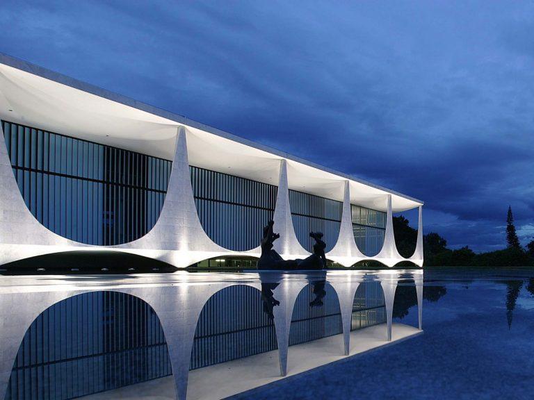 president official residence in Brasília oscar niemeyer brasilia copy