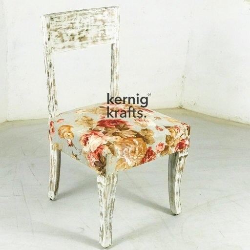 floral chair spring kernig krafts furniture wood