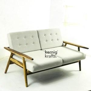 SOFA38904 Contemporary Design Two Seater Sofa For Home Usage