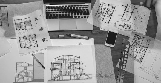 architectural design architecture black and white blueprint
