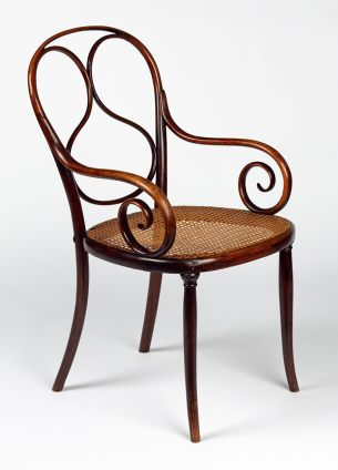 1859 Armchair model no. 1 bentwood thonet kernig krafts
