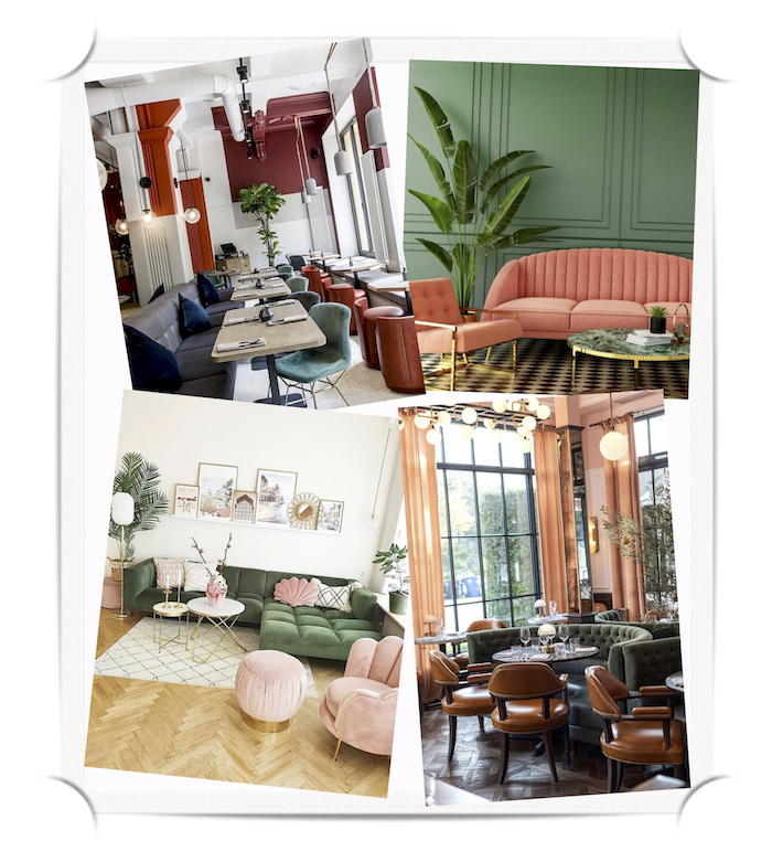 restaurant design kernig krafts teal burgundy furniture