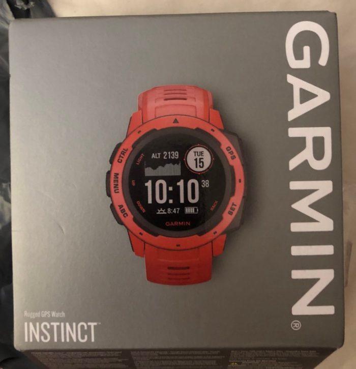 Garmin instinct red