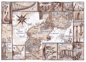 Carte d'Almenarc'h originale