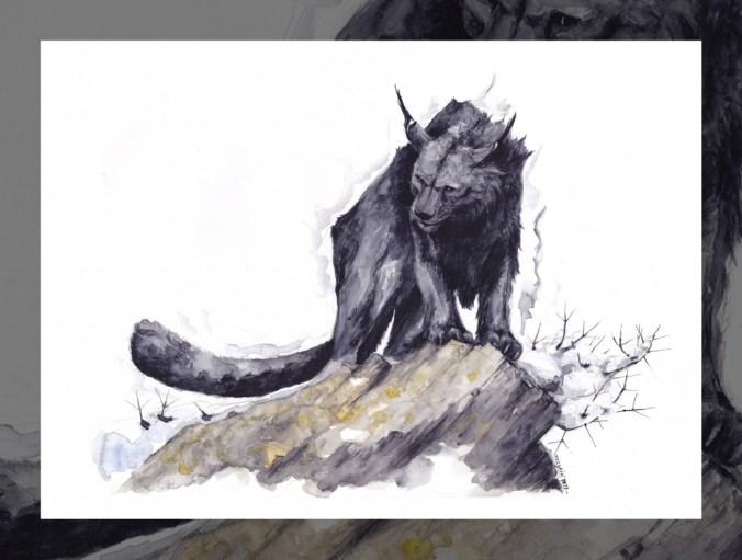 La vamptère, un animal des Kerns de l'Oubli