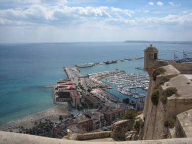View from Castle in Alicante