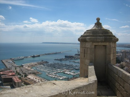 Santa Barbara Castillo, Alicante, Spain