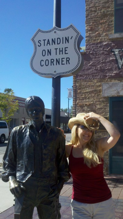 Standin' on a corner in Winslow Arizona