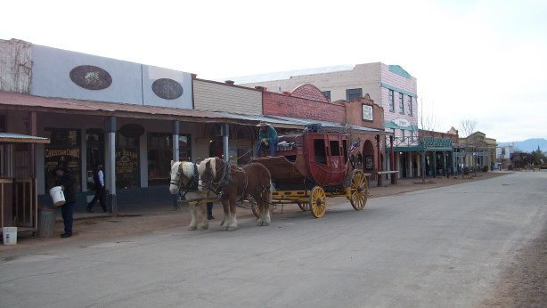 Downtown Tombstone, Arizona.