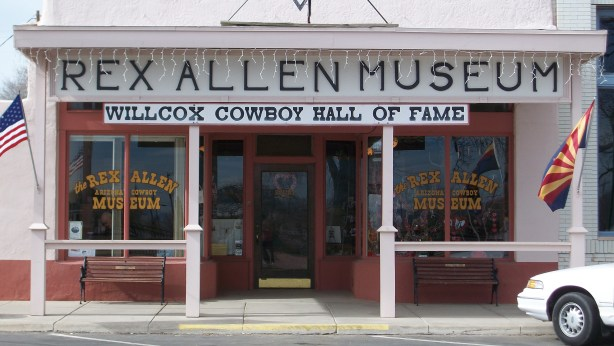 The Rex Allen Museum and Willcox Cowboy Hall of Fame.