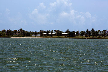 San Jose Island private estate.