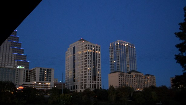 Largest Urban Bat Colony in Austin, Texas.