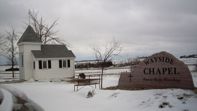 Wayside Church, another World's Smallest Church