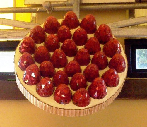 World's Largest Strawberry Tart