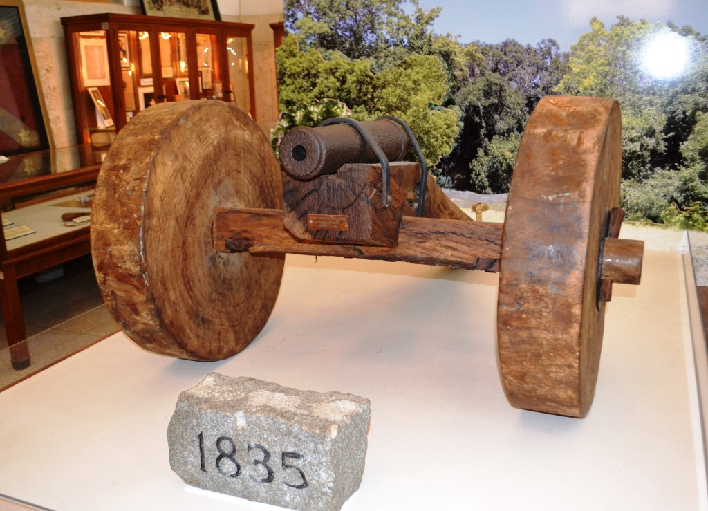 "The ""Come and Take It"" cannon."