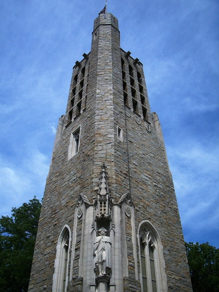 The National Patriots Bell Tower.