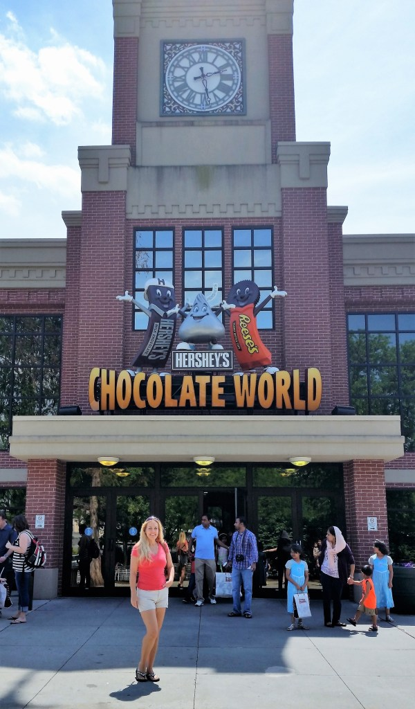 The World of Chocolate - at Hershey in Hershey, PA, of course.