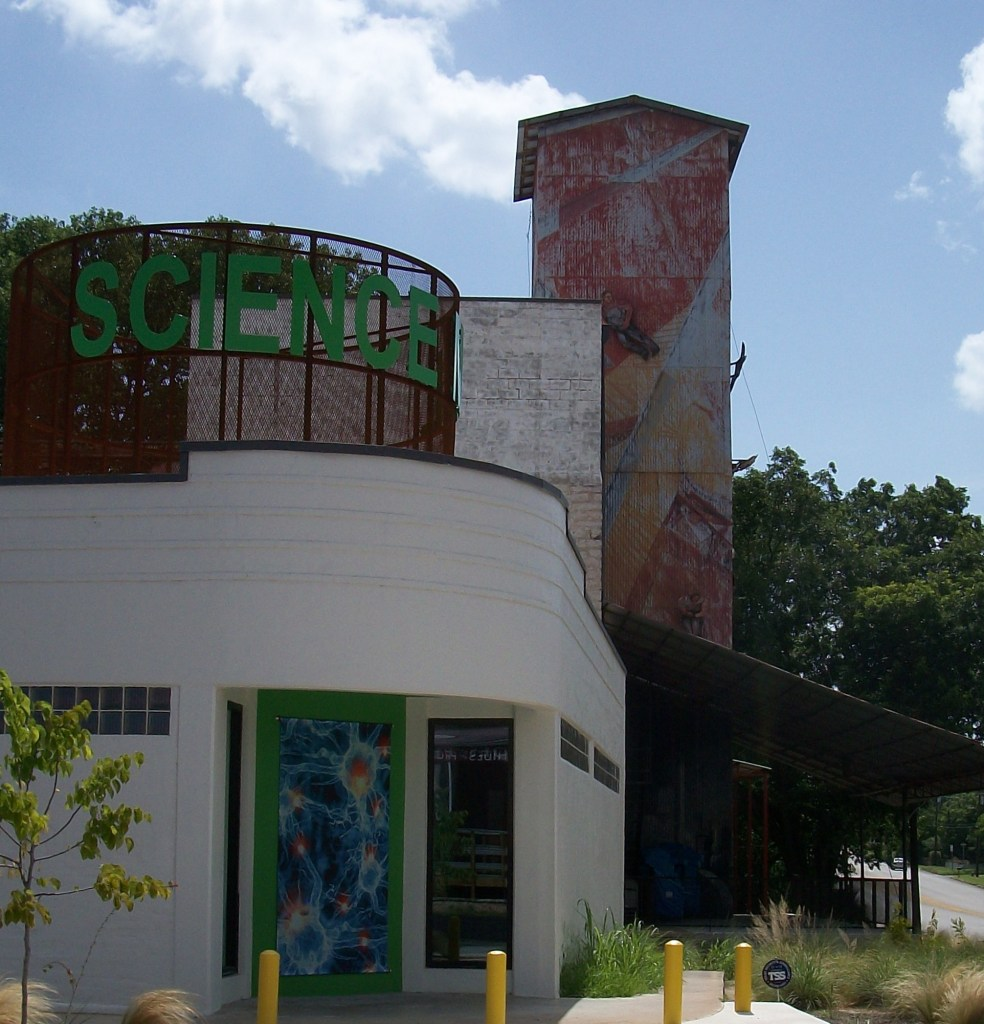 Silo turned museum.