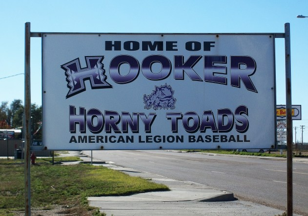 The Hooker Horny Toads.