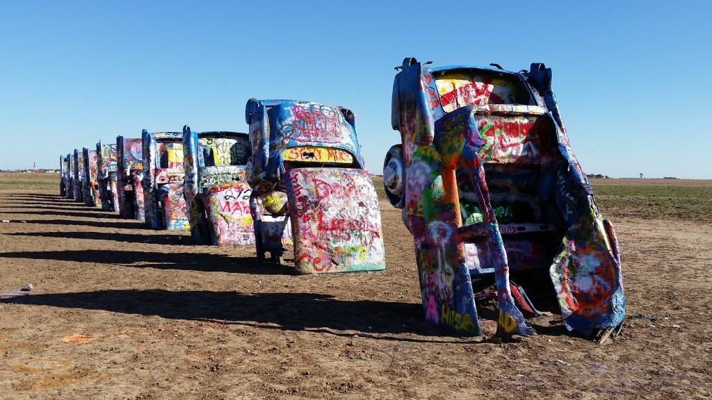 The Cadillac Ranch in 2015.