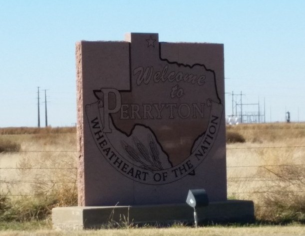 Perryton, Texas, the Wheatheart of the Nation.