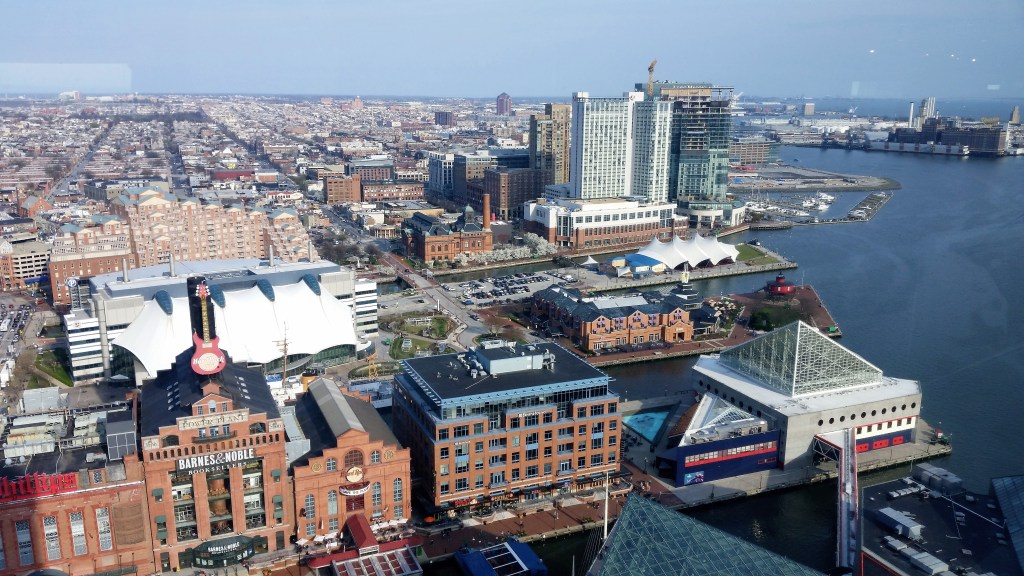 The area of Baltimore Harbor done by Kernut and BluzDude.