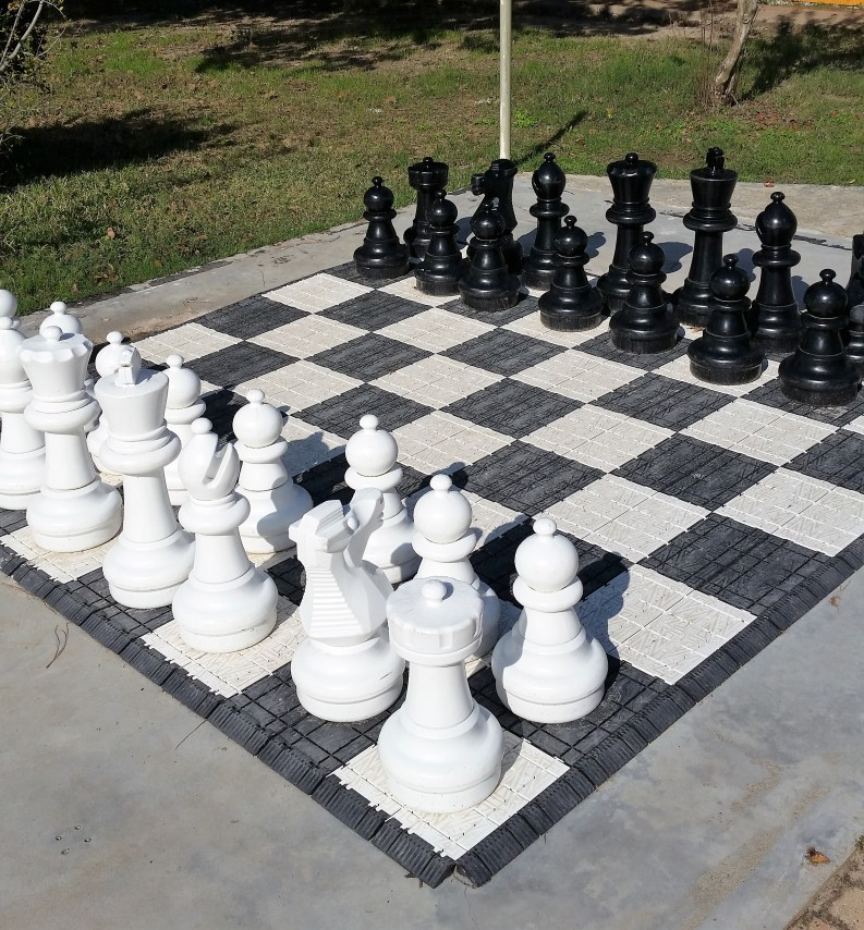 Giant Chessboard in Giddings, Texas.