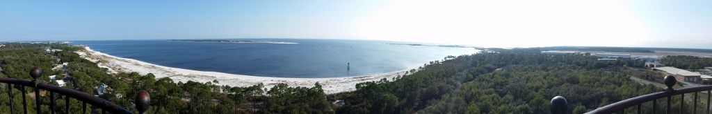 View from the Pensacola Lighthouse.