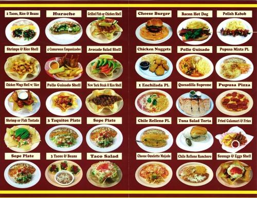 Don Pepitos menu pg2
