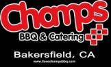 champs bbq and catering logo