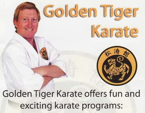 GOLDEN TIGER KARATE ad resized