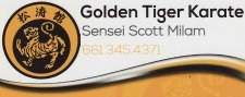 GOLDEN TIGER KARATE business card resized