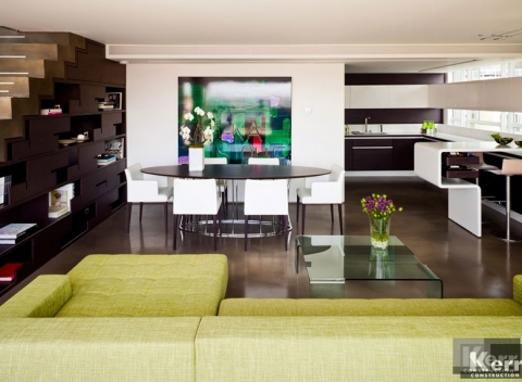 Living Room Remodel / Renovation - Kerr Construction