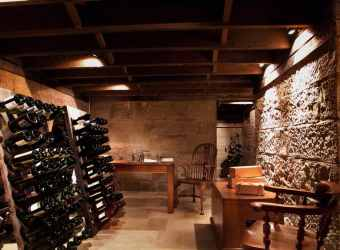 Expansive Wine Cellar