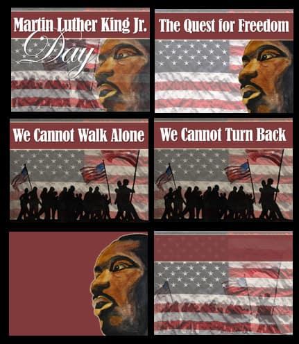 MLK Powerpoint Slide Set