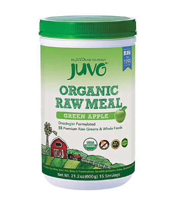 Juvo Raw Meal Label