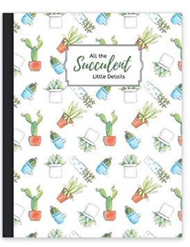 All the Succulent Little Details Notebook