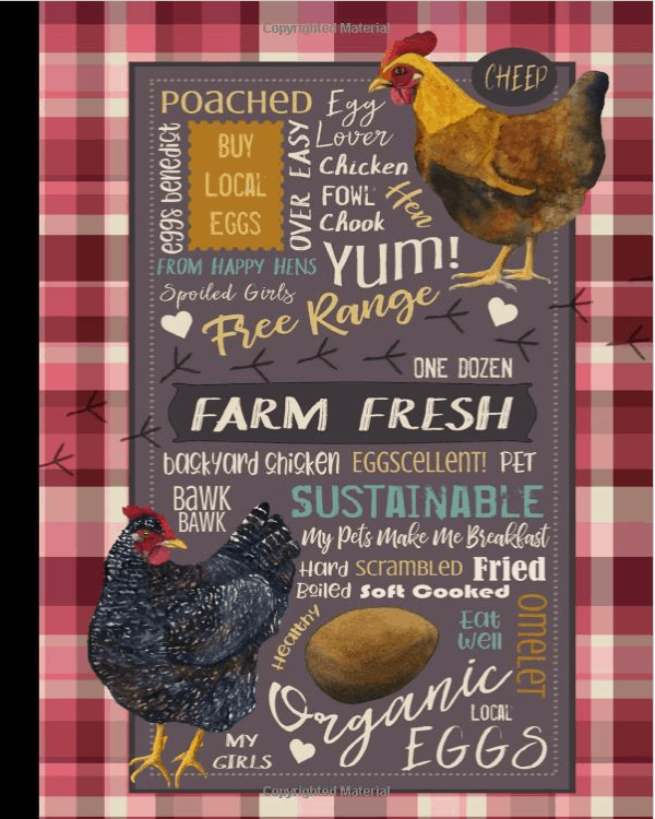 Farm Fresh Eggs Notebook