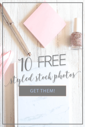 10 free styled stock photos