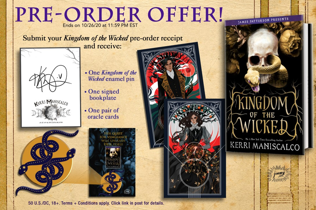 Kingdom of the Wicked Preorder Image