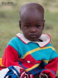 Young Maasai boy